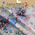 small flower printed pattern chiffon fabric