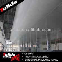 Curved Aluminum linear Ceiling, Modern Aluminum Wave Shape Ceiling, aluminum artistic strip ceiling