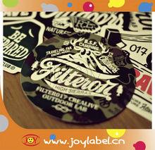 2013 colorful die cut custom sticker design