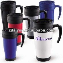 16oz 2012 best popular double wall plastic travel mug