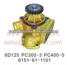 Pc300-3 pc400-5 escavatore pompa acqua, motore 6d125 6151-61-1101