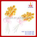 Flor lollipop americano doces