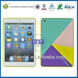 C&T TPU cover for smart case ipad mini,for ipad mini cover