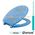 Artículos de higiene o polyresin asiento del inodoro PR1026