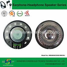 40mm 32 Ohm 20mW High Quality Headphone Speaker Driver