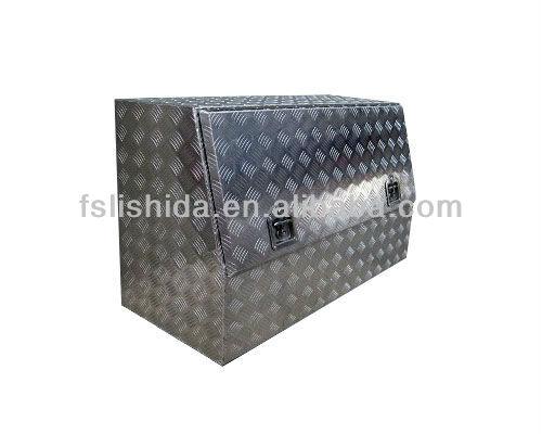 Twin T-locks Aluminum Tool Box for truck