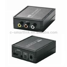 Av to HDMI Converter Box CVBS + Audio