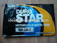 DURO brand motorcycle inner tube 3.00-18 for Venezuela