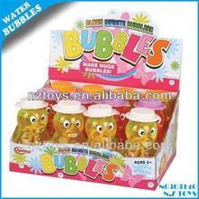 Sıcak yaz oyuncaklar 95ml hayvan darbe renkli kabarcık su( 12pcs)/Çocuk kabarcık