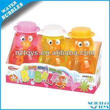 Sıcak yaz oyuncaklar 155ml hayvan darbe renkli kabarcık su( 3adet)/yaz kabarcıklar