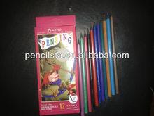 7'' recyclable materials color pencil