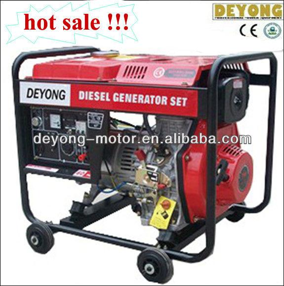 3kw diesel generator with wheels(DY4000CX)