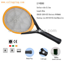 Best selling 1 LED light Electric Rechargeable Pest Control mosquito killer racket