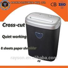 Rayson E-8, office machine, Paper Shredder