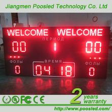 led electronic digital gymnastics scoreboard