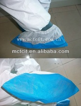 good quality pp cpe waterproof shoe cover with elastic