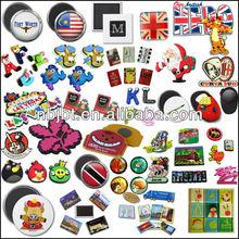 Vaious Customized Tourist Souvenir Fridge Magnet/Promotion Custom 3d Fridge Magnet/3d Soft Pvc Fridge Magnet