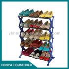 acrylic nail polish wall shoe rack