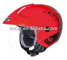 Open face helmet motorcycle