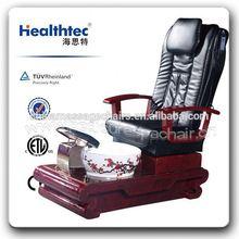 Pedicure Recliner pedicure foot spa massage chair With Garra Rufa Fish For Sale