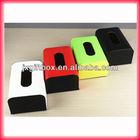 pu leather box leather storage box handmade leather tissue box