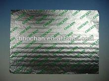 aluminum foil paper printed hamburger wrap 26*36cm/hamburger wrap
