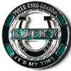 2015 hot sale Cheap Custom Lucky gambling poker chips
