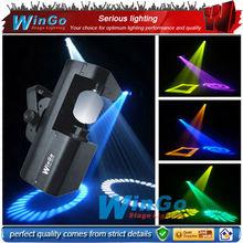 60W rotating gobo LED scanner / professional dj indoor stage lighting