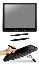 19inch widescreen graphic tablet, wide screen LCD monitor pen tablet