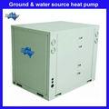 comercial para la salmuera el agua de la bomba de calor del calentador de agua