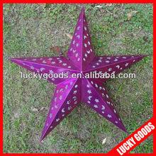 star paper lanterns for christmas