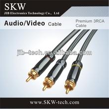 High End 3 RCA to 3RCA cable VGA RCA