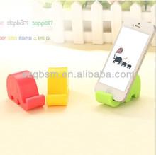 New Colorful Elephant shape creative Cheap cute mobile phone holder wholesale