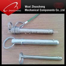 Qucik release SS spring lock pin