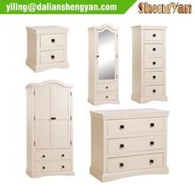 Wholesale Simple Modern Wooden Flat Pack Furniture Bedroom