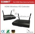 inalámbrico 25m hdmi 1080p av del transmisor y el receptor