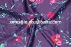 weight 200g nylon/ spandex sexy women underwear printed fabric