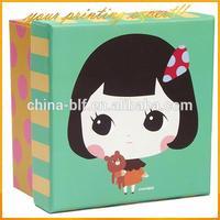 dolls paper box gift box packaging box(BLF-GB384)
