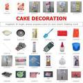 Decoração do bolo do mercado de yiwu- um parar de sourcing da china