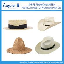 Handmade Natural Stylish Wide Brim Straw Boater Hat,Chinese Straw Hat