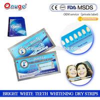 onuge teeth whitening strips foam better than crest