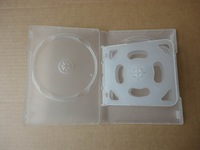 22MM 6 Discs Clear Thick DVD Case With 2 trays