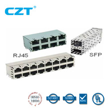 UL approved RJ45 Modualr Jack Connector YH-59-06-LED