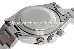 mechanical chronograph watch