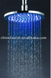 led raining shower head(bathroom led shower head,led top shower head)