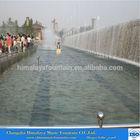 Bridge artificial waterfall water curtain outdoor water fountain