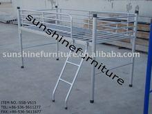 metal loft bed for kids