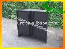 2012 new design outdoor wicker cabinet