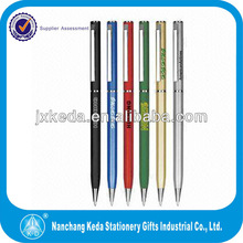 2014 Metal Thin Ballpoint Pen For Business Promotion