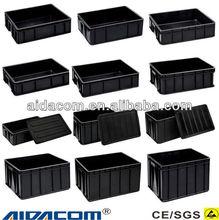 Box Manufacturer,ESD Circulating box,Conductive plastic antistatic ESD Box